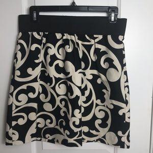 Ann Taylor Loft Elastic Waistband Skirt
